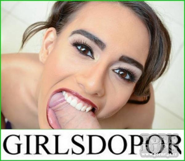 Cute schoolgirl teen young