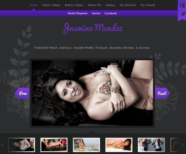 JasmineMendez.com - TheLaughingLatina.com - The Laughing Latina (Clips4Sale) - SITERIP