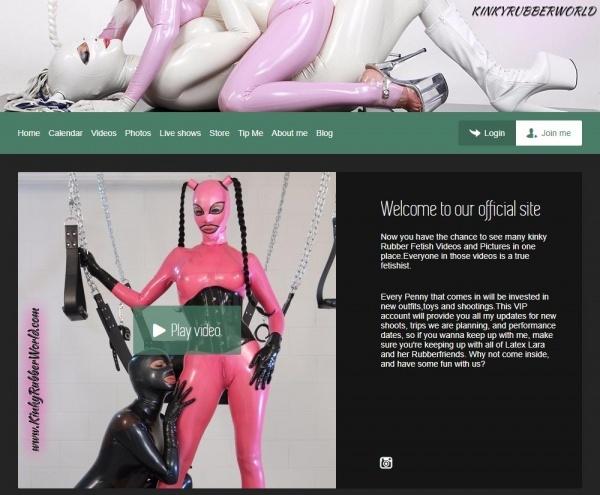 KinkyRubberWorld.com - SITERIP