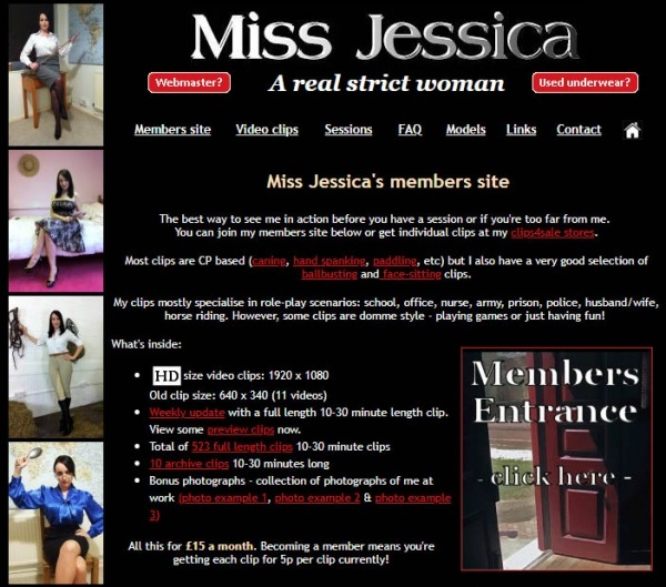MissJessicaWoodVideos.co.uk - Miss Jessica's Punishments UK - SITERIP