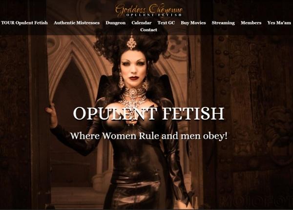 OpulentFetish.com - GoddessCheyenne.com - SITERIP